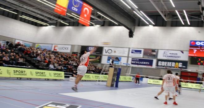 Ziraat Bankası Erkek voleybol takımı yarı finalda