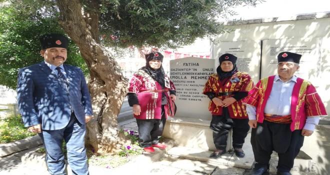 Kuva'i Milliye kumandanlarından şehit teğmen Mulla Mehmet Karayılan, şehadetinin 98. Yıldönümünde mezarı başında anıldı