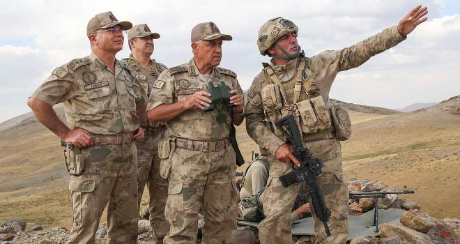 Jandarma Genel Komutanı Orgeneral Çetin: Dağlar teröristlerden tamamen temizlendi