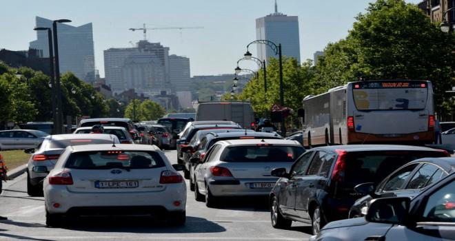 Brüksel'in şehir geçiș ücreti sürücülere yılda 1000 avro'ya mal olabilir