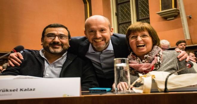 Yüksel Kalaz'ın Gent Meclisindeki başörtü yasağına karșı güçlü savunması