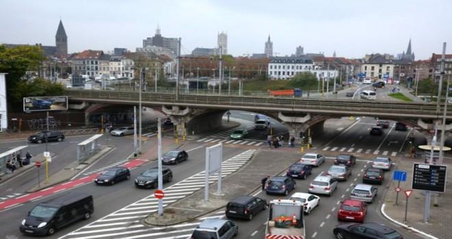 Gent-Dampoort'un altına tünelin inșa edilmesi hala garantilenemedi