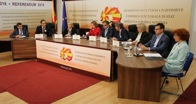 Makedonya'daki referanduma katılım yüzde 36'da kaldı