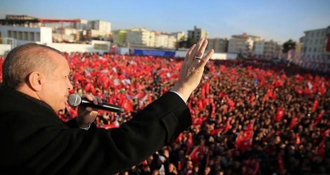Cumhurbaşkanı Erdoğan: Bölge terörden temizlenene kadar devam edeceğiz