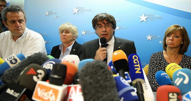 Eski Katalonya lideri Puigdemont: Belçika'ya siyasi sığınma hakkı talep etmek için gelmedim