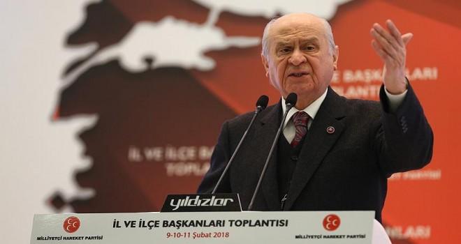 MHP Genel Başkanı Bahçeli: Türk Tabipler Birliği diye bir kurum ahlaken ve vicdanen yok hükmündedir