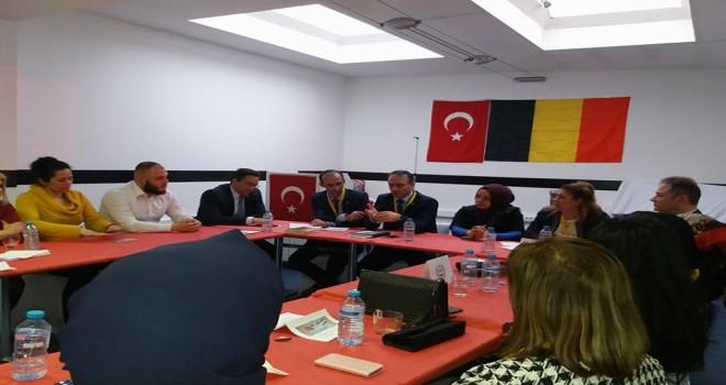 Brüksel'de Avrupa Türk Sivil Platformunun ikinci çalıştay toplantısı düzenlendi