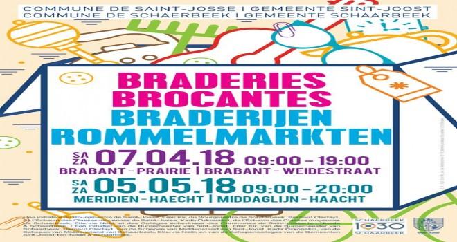 7 Nisan   Saint Josse Ten Noode Brabant Geleneksel Brokant