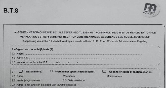 BT8 belgesi onaylandı