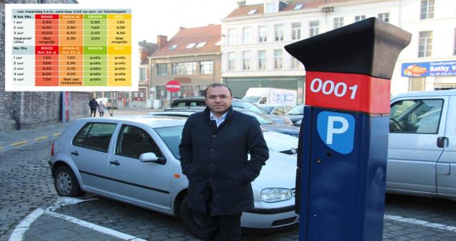 """Yüksel: """"Gent'te park ücretlerini düşüreceğiz!"""""""