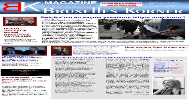 BRUXELLES KORNER Magazin 2016  2'inci baskısı