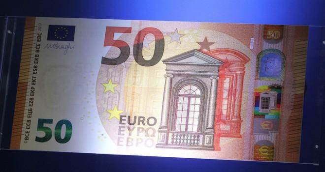 Tedavüle sürülecek olan yeni 50 euro'luk banknotlarda neler değişik
