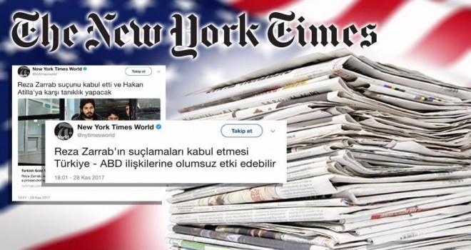 NYT 'Türkçe Twitter paylaşımlarının' gerekçesini açıklayamadı