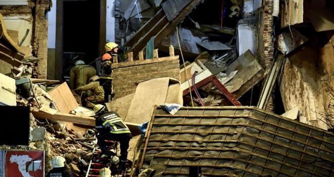 Anvers'te meydana gelen doğalgaz patlamasında 2 ölü, 6'sı ağır 14 yaralı