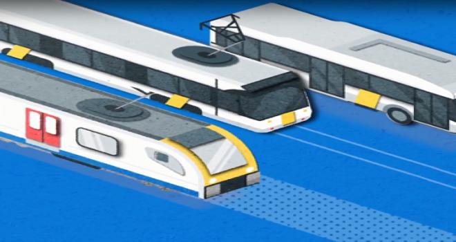 Gent ve Anvers'te tren, tramvay ve otobüs ile sınırsız seyahat!