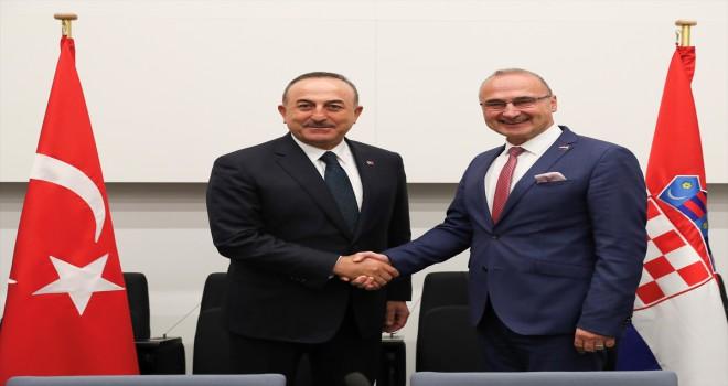 Dışişleri Bakanı Mevlüt Çavuşoğlu, Brüksel'de
