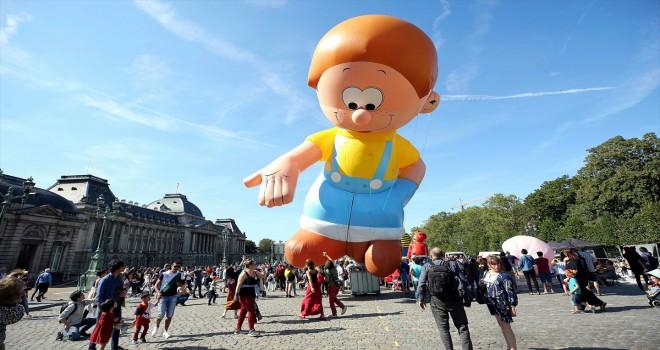 Brüksel'de Çizgi Roman Festivali