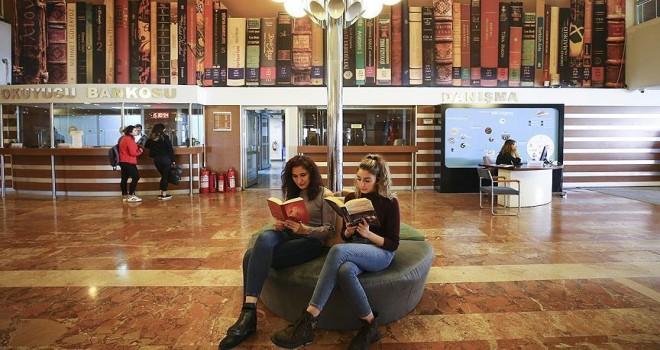 Kütüphanelerden 25 milyon kişi yararlandı