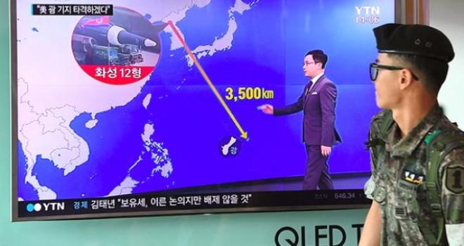 Kuzey Kore, ABD Topraklarını Vurmak İçin Emir Beklediğini Açıkladı