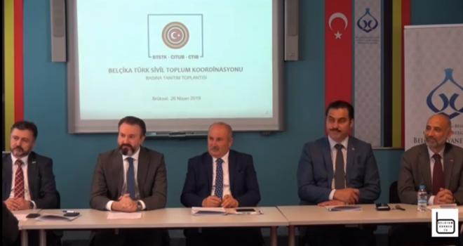 Belçika Türk Sivil Toplum Koordinasyon platformu kuruldu VIDEO