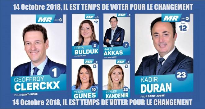 14 Ekim seçimleri Saint-Josse'da
