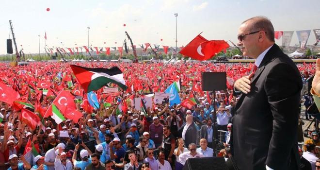 Cumhurbaşkanı Erdoğan: Bizim için Çanakkale neyse Kudüs de odur