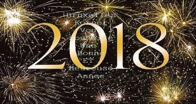 Bruxelles Korner ekibi yeni yılınızı kutluyor