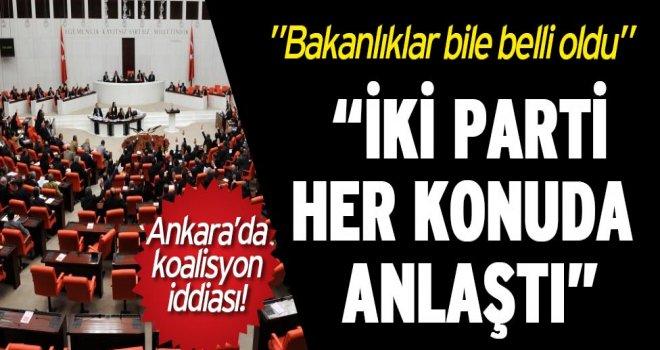 """""""AKP ve MHP anlaştı"""""""