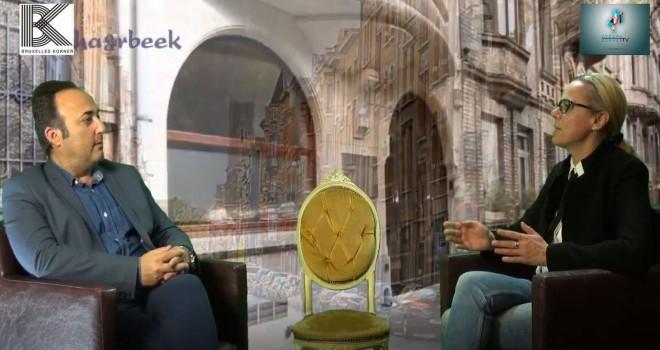 Citoyen d ' europe à Schaerbeek  avec Katerina Mankovska