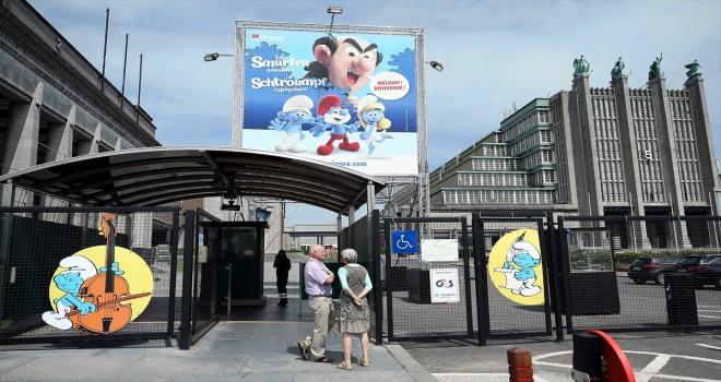 Brüksel'de Şirinler