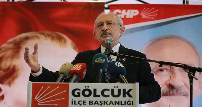 CHP Genel Başkanı Kılıçdaroğlu: İşçi daha iyi yaşam standardını yakalamak istiyor
