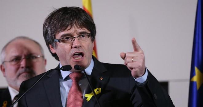 Eski Katalonya Özerk Yönetimi Başkanı Puigdemont: Seçim sonuçları bize bağımsızlık yetkisi veriyor