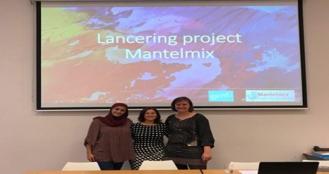 Gent șehrinde Samana ve Ghent Anatolië derneğinin 'Mantelmix' projesi bașlatıldı