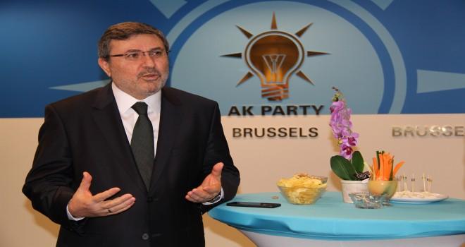 AK Parti Brüksel Temsilciliği'nde yeni yıl resepsiyonu