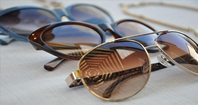 'Güneş gözlüğü seçiminde cam rengi önemli'