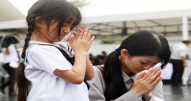 Japonya 'Nagasaki atom bombası' saldırısının 71. yıldönümünü anıyor
