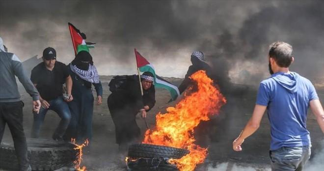Gazze'deki gösterilerde 37 Filistinli şehit oldu