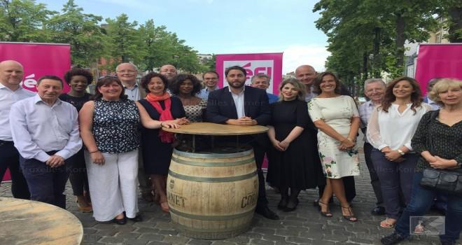 'Defi' partisi Brüksel Belediye Seçimlerinin listesini tanıttı