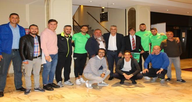 Akhisarspor bu sezon Uefa Avrupa Ligi J Grubu ikinci maçında