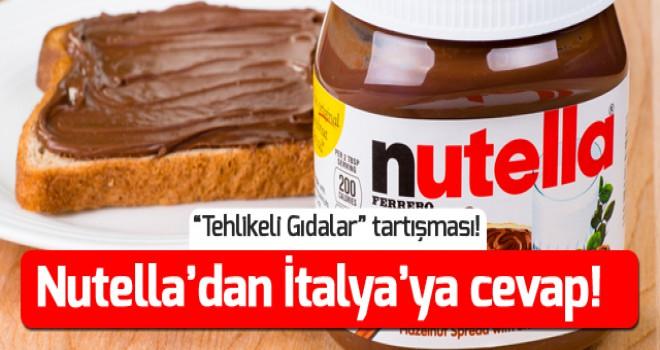 Nutella'dan İtalya'ya yanıt gecikmedi!