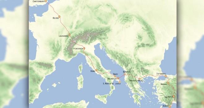 Avrupa'dan Türkiye'ye yürüyüşün rotası belirlendi