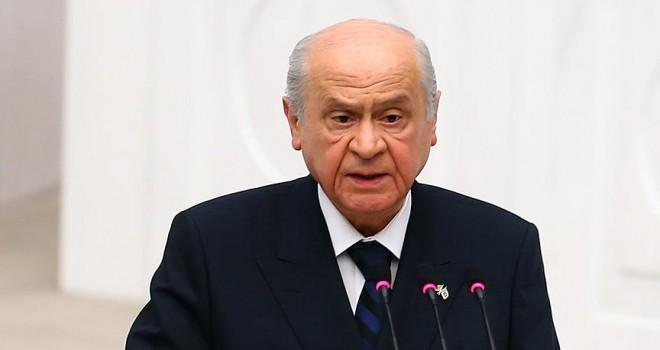 MHP Genel Başkanı Bahçeli: Cumhurbaşkanı'nın ifadeleri Türkiye'ye yakışır bir yaklaşımdır