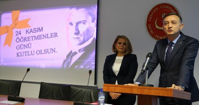 Brüksel'de 24 Kasım Öğretmenler Günü etkinliği