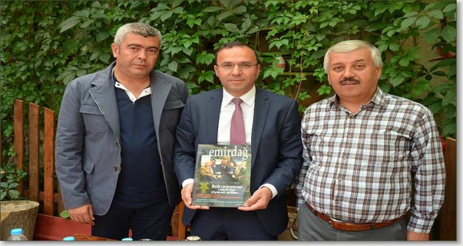 Milletvekili Veli Yüksel Emirdağlılar vakfını ziyaret etti