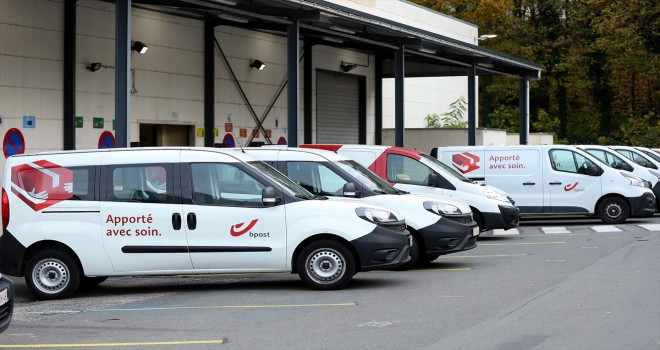 Belçika'da B-Post'ta grev
