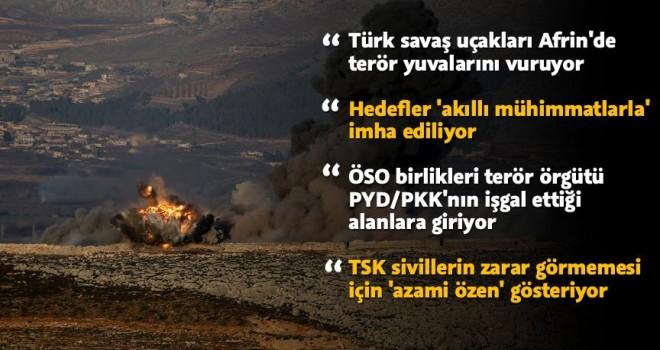 Afrin'e 'Zeytin Dalı Harekatı'