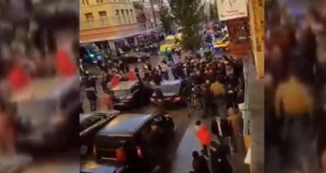 Belçika'nın Anvers Kentinde Terör Örgütü PKK Provokasyonu