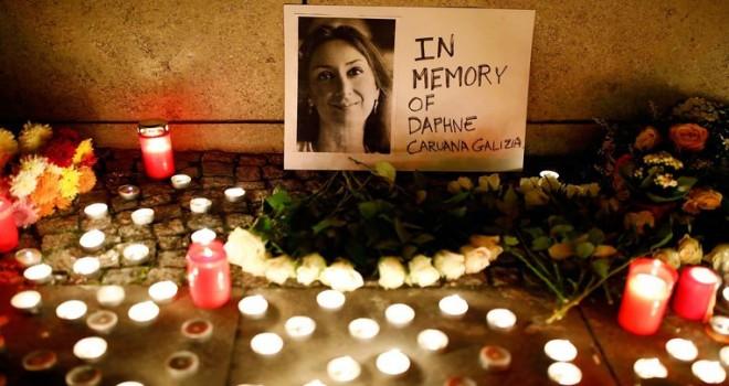 Gazeteci Galizia'nın katilini bulana 1 milyon euro ödül verilecek