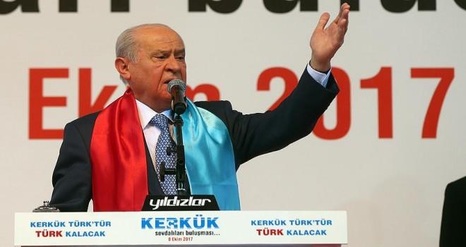 MHP Genel Başkanı Bahçeli: Dediğimizi yapar, yaptığımızı dosta da düşmana gösteririz