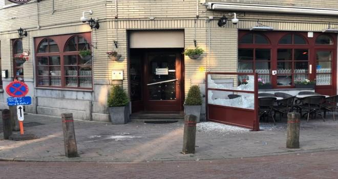 Anvers'te Türk dönerci dükkanına el bombası atıldı